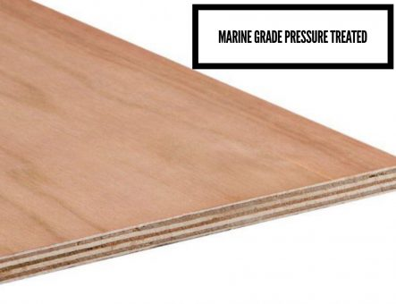 Marine Grade Pressure Treated